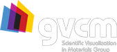 GVCM – Group for Scientific Visualization in Materials Research Logo